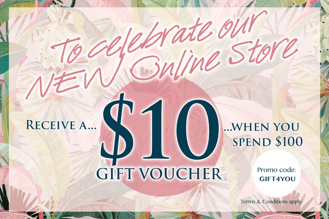 Spend $100 and get a $10 gift voucher